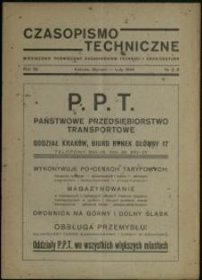 Czasopismo Techniczne : 1946 : nr 2-3