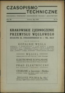 Czasopismo Techniczne : 1946 : nr 6