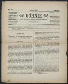 Górnik 1885 : z. 12