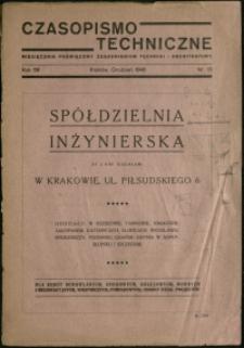 Czasopismo Techniczne : 1946 : nr 13