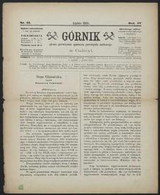 Górnik 1885 : z. 13