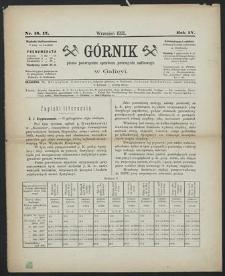 Górnik 1885 : z. 16, 17