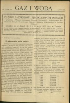 Gaz i Woda : 1927 : nr 2