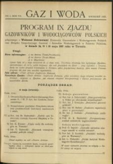 Gaz i Woda : 1927 : nr 4