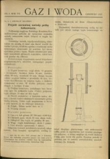 Gaz i Woda : 1927 : nr 6