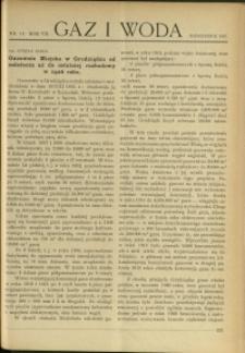 Gaz i Woda : 1927 : nr 10