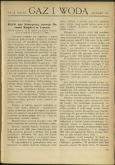 Gaz i Woda : 1927 : nr 12
