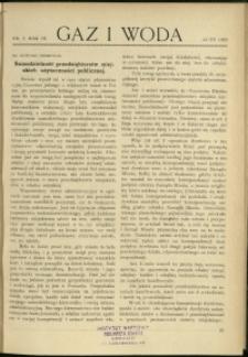 Gaz i Woda : 1929 : nr 2