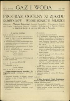 Gaz i Woda : 1929 : nr 5