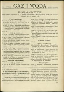Gaz i Woda : 1929 : nr 6
