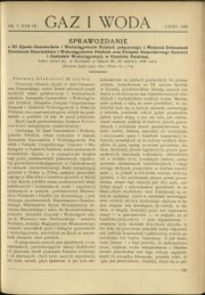 Gaz i Woda : 1929 : nr 7