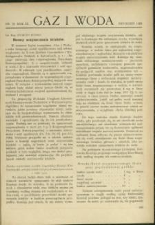 Gaz i Woda : 1929 : nr 12