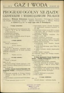 Gaz i Woda : 1930 : nr 4