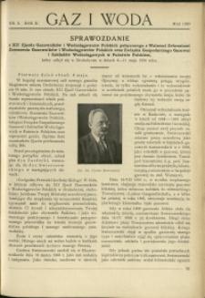 Gaz i Woda : 1930 : nr 5