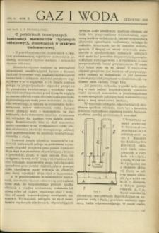 Gaz i Woda : 1930 : nr 6