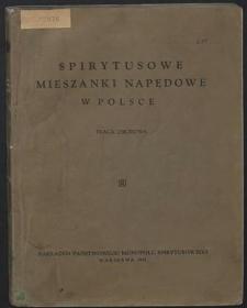 Spirytusowe mieszanki napędowe w Polsce