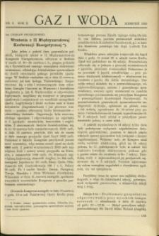 Gaz i Woda : 1930 : nr 8