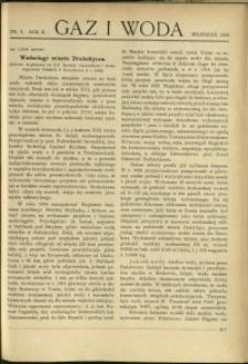 Gaz i Woda : 1930 : nr 9
