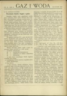 Gaz i Woda : 1930 : nr 12