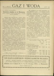 Gaz i Woda : 1931 : nr 2