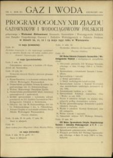 Gaz i Woda : 1931 : nr 4