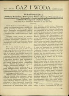 Gaz i Woda : 1931 : nr 6