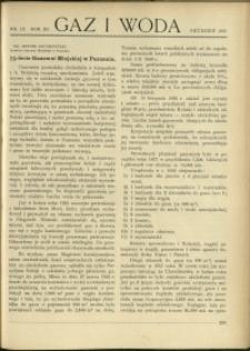 Gaz i Woda : 1931 : nr 12