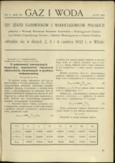 Gaz i Woda : 1932 : nr 2
