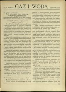 Gaz i Woda : 1932 : nr 6