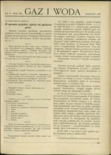 Gaz i Woda : 1932 : nr 8