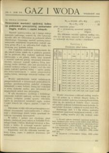 Gaz i Woda : 1932 : nr 9