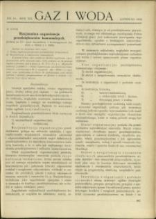 Gaz i Woda : 1932 : nr 11