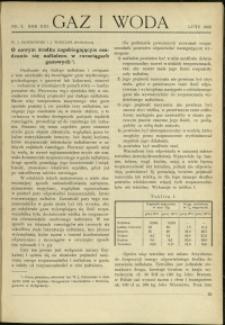 Gaz i Woda : 1933 : nr 2