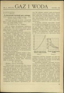 Gaz i Woda : 1933 : nr 3