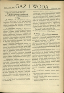 Gaz i Woda : 1933 : nr 6