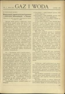 Gaz i Woda : 1933 : nr 7
