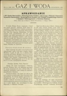 Gaz i Woda : 1933 : nr 10