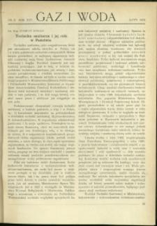 Gaz i Woda : 1934 : nr 2