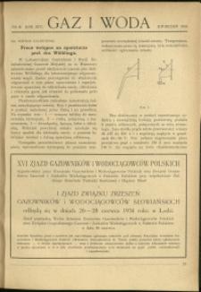 Gaz i Woda : 1934 : nr 4