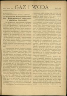 Gaz i Woda : 1934 : nr 5