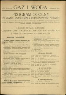 Gaz i Woda : 1934 : nr 6