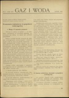 Gaz i Woda : 1934 : nr 7