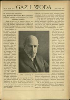 Gaz i Woda : 1934 : nr 8