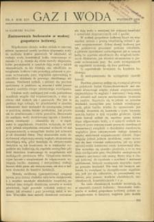 Gaz i Woda : 1934 : nr 9