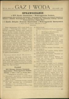 Gaz i Woda : 1934 : nr 12