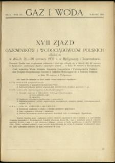 Gaz i Woda : 1935 : nr 3