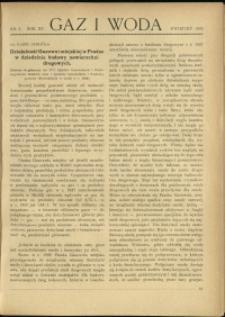 Gaz i Woda : 1935 : nr 4