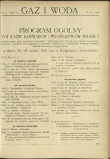 Gaz i Woda : 1935 : nr 5