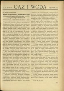 Gaz i Woda : 1935 : nr 8