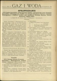 Gaz i Woda : 1935 : nr 10